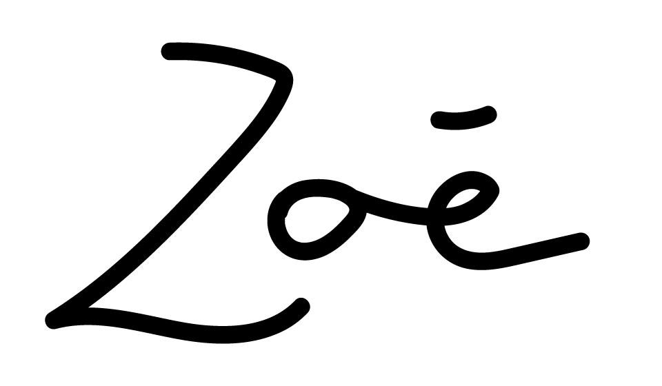 signature zoé macaron