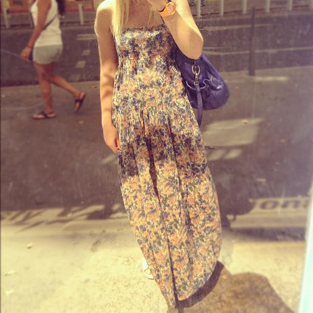Dans mon iphone 24 zo bassetto blog mode beaut - Robe longue comptoir des cotonniers ...