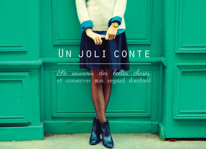 Picture 29 Un joli conte #1 Goûter chez Guillemette    Blog mode