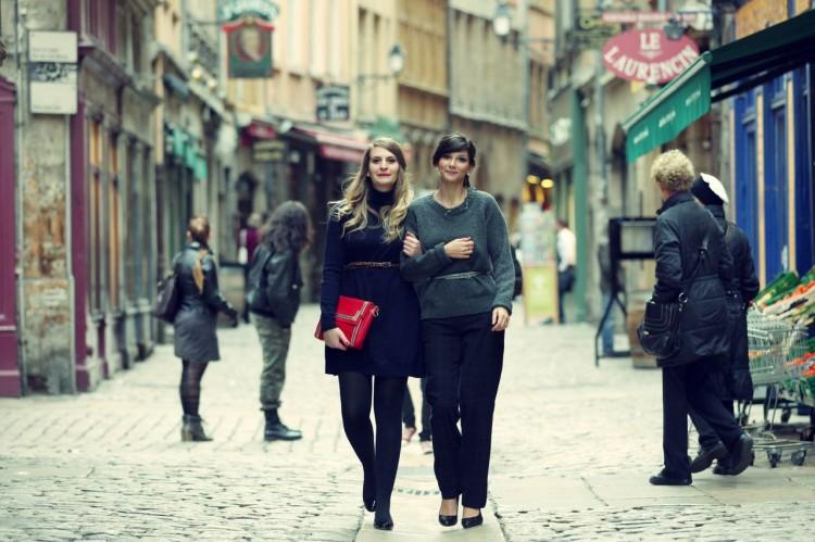 ZOE CELINE1 750x499 Un joli conte #2   Promenade dans le Vieux Lyon    Blog mode