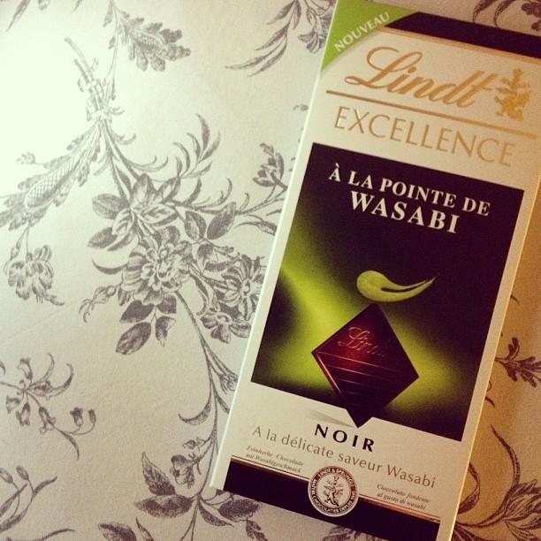 CHOCOLAT LINDT WASABI Dans mon iPhone #35    Blog mode