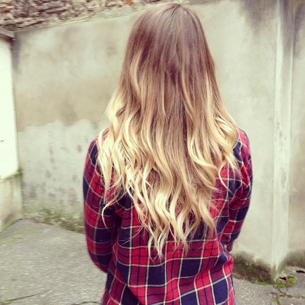 OMBRE HAIR Dans mon iPhone #35    Blog mode