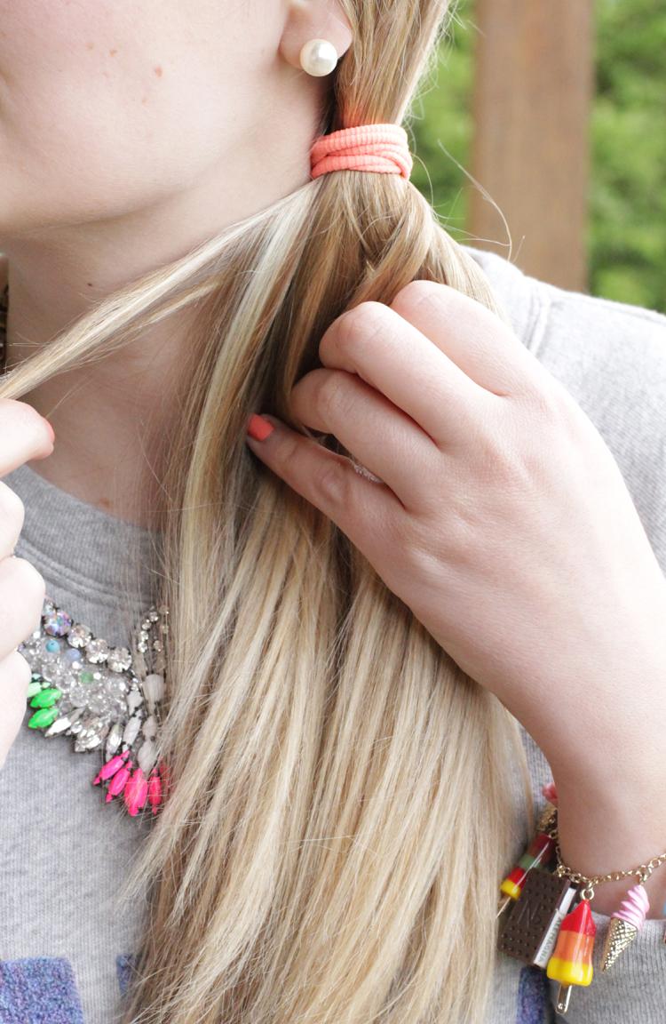 TUTO TRESSE 4 Tuto coiffure : la tresse épi    Blog mode