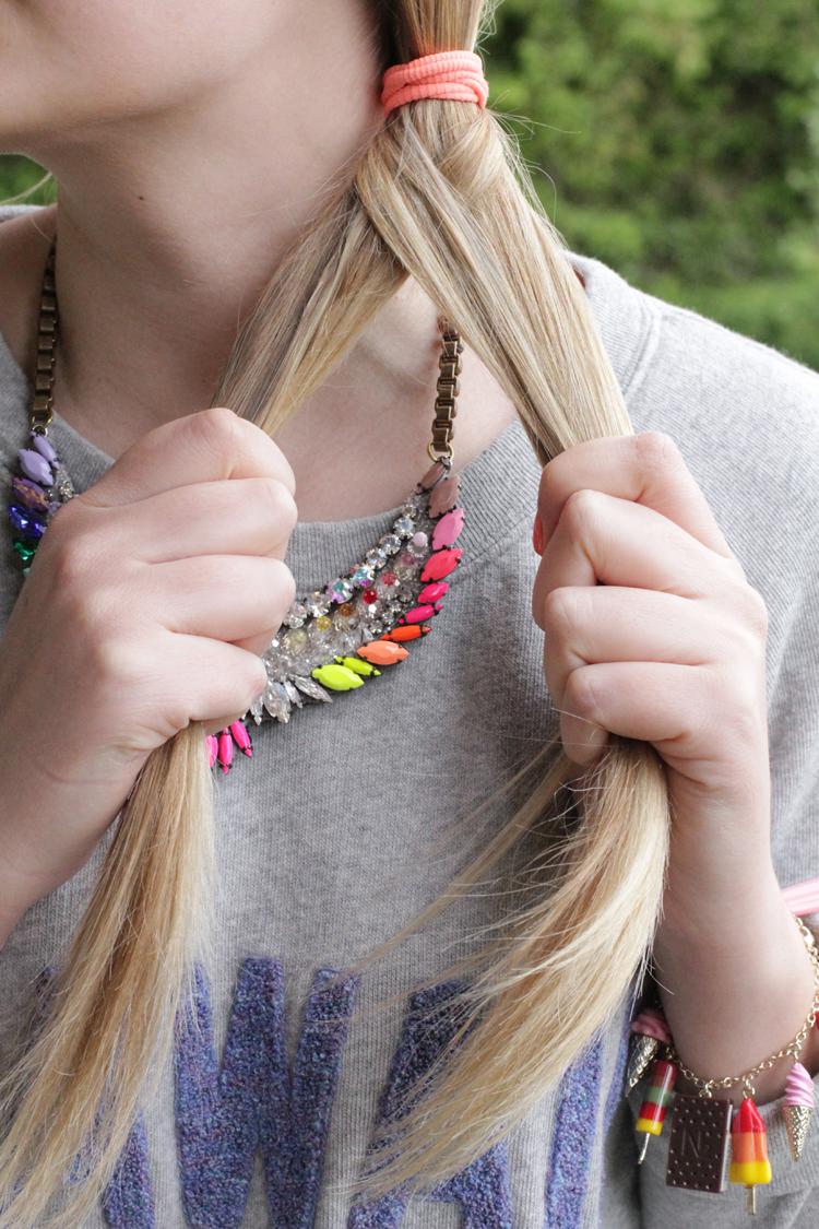 TUTO TRESSE 5 Tuto coiffure : la tresse épi    Blog mode