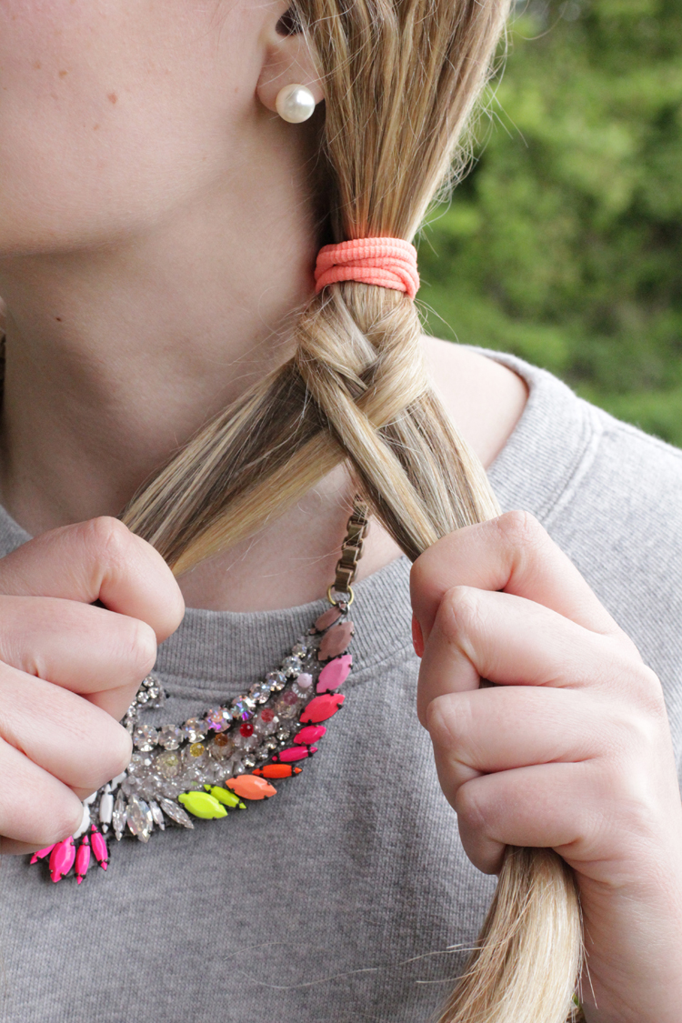 TUTO TRESSE 6 Tuto coiffure : la tresse épi    Blog mode