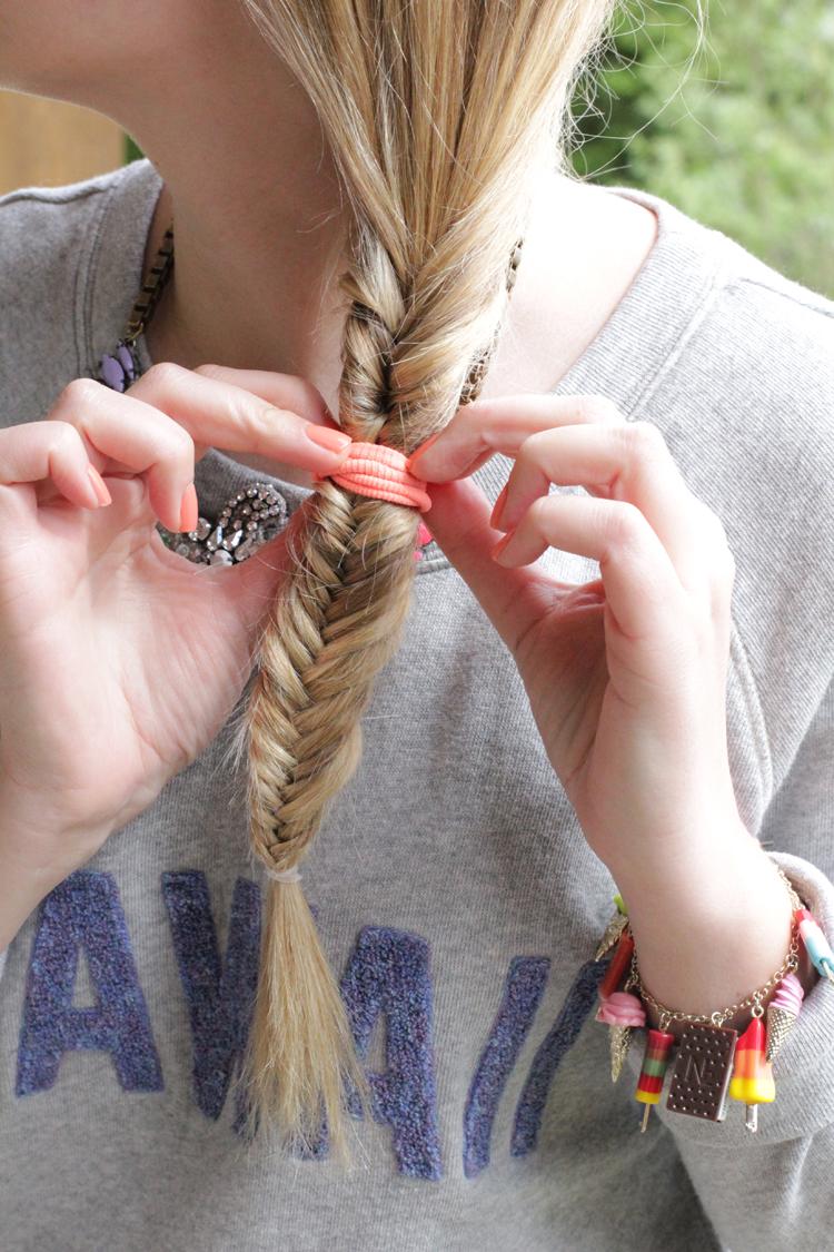 TUTO TRESSE 7 Tuto coiffure : la tresse épi    Blog mode