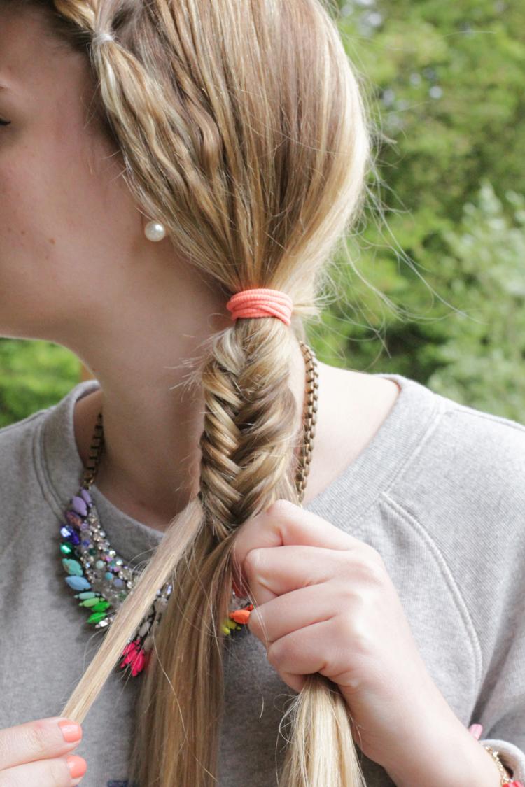 TUTO TRESSE 8 Tuto coiffure : la tresse épi    Blog mode