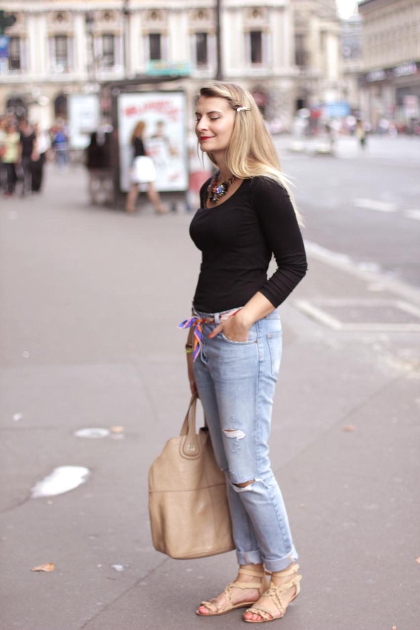 BOYFRIEND JEAN SANDRO SAC GIVENCHY 3 Un week end à Paris    Blog mode