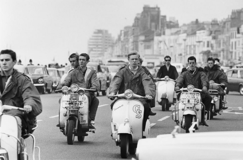 Parka mods scooters