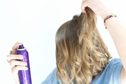 tuto coiffure cheveux bouclés 10