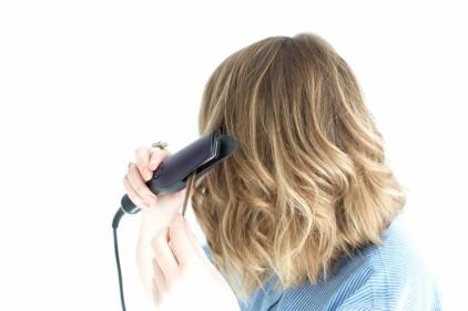 Coupe de cheveux carre long wavy
