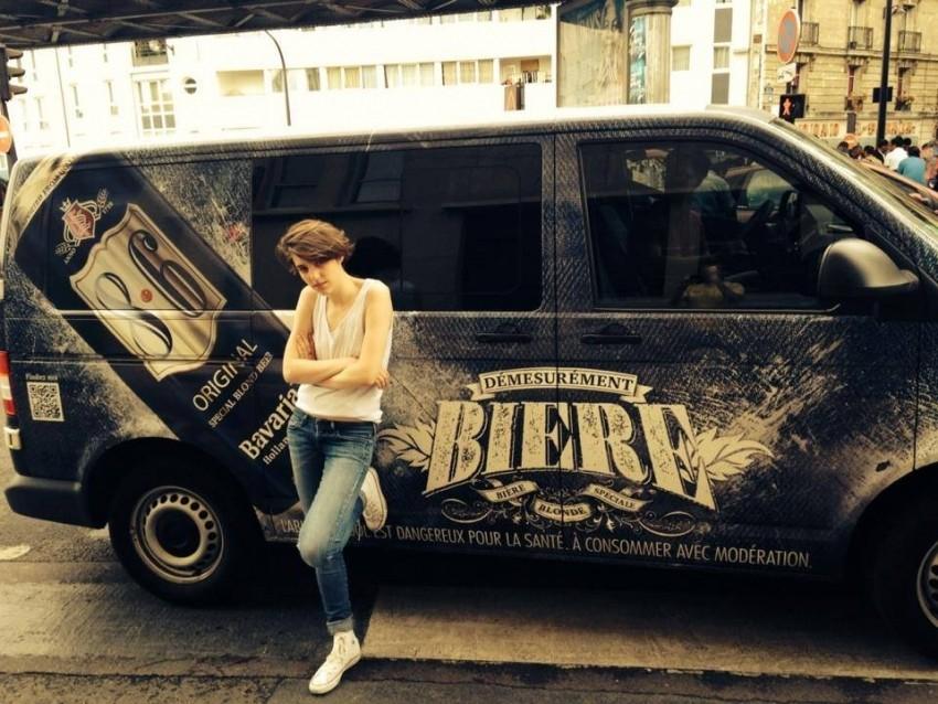 camion van 8.6 bavaria grand blanc label entreprise