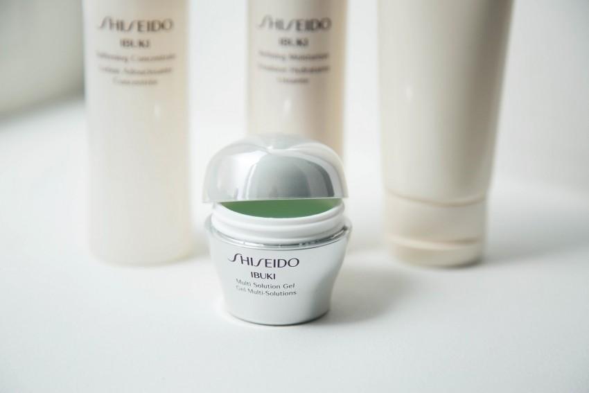 gel ibuki shiseido pot vert