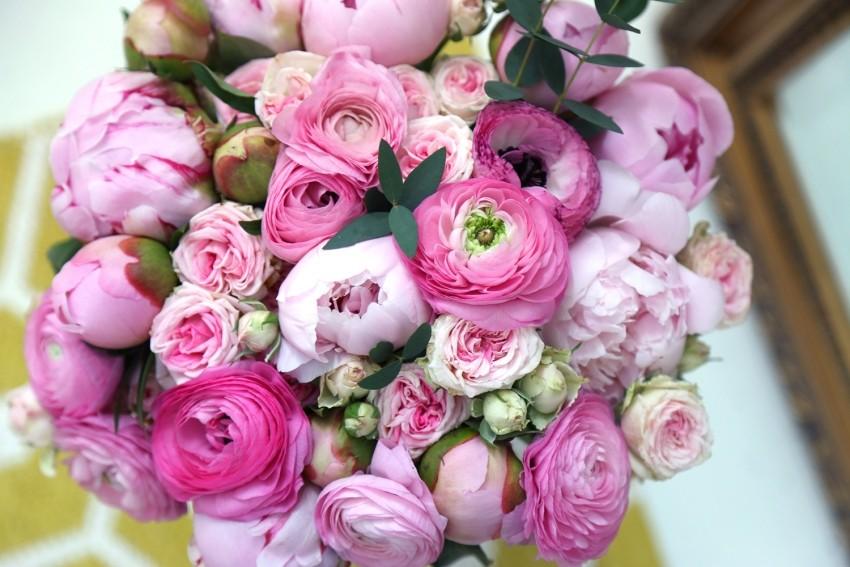 fleuriste lyon 69002 Mademoiselle fleurs & vin bouquet roses