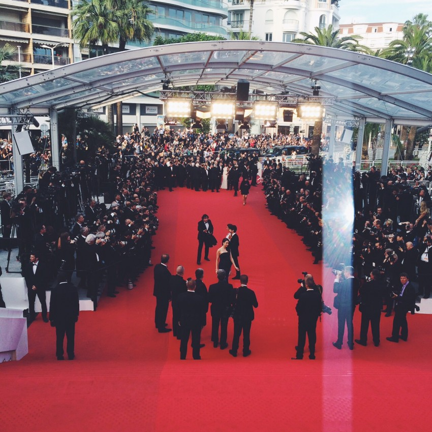 tapis rouge cannes 2015