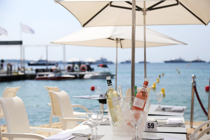 restaurant plage majestic hôtel cannes