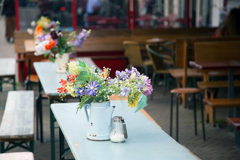 restaurant terrasse fleurs amsterdam
