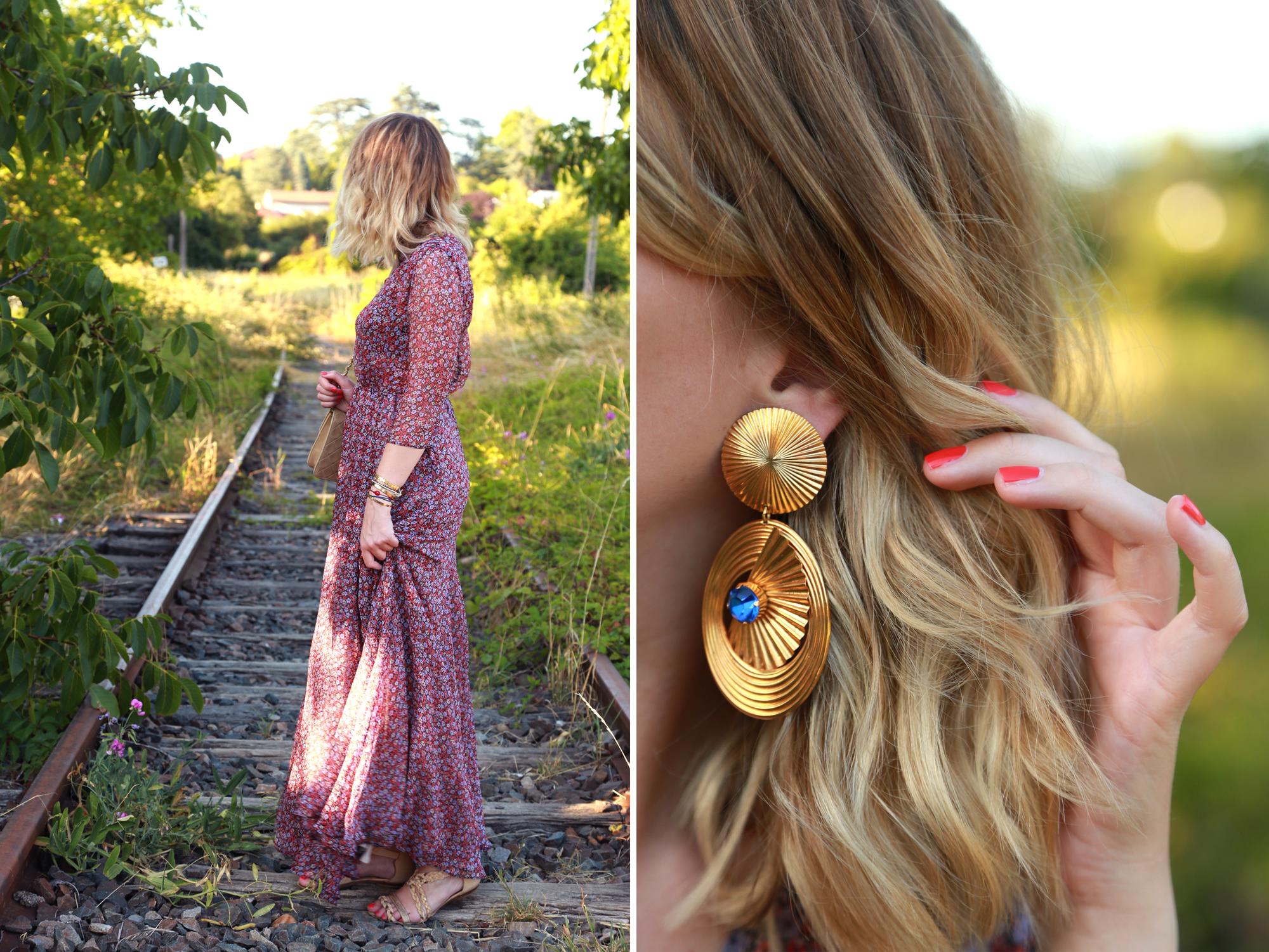 look robe longue sezanne fleurieu sur saône